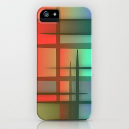 Abstract Design 6 iPhone Case