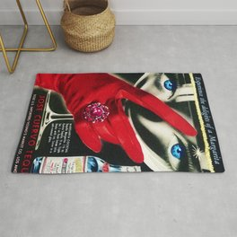 Rare 1962 Jose Cuervo Tequila Advertisement Poster Rug