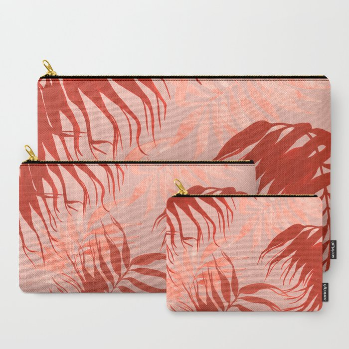 Red Fern Carry-All Pouch