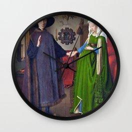 Arnolfini Portrait Wall Clock
