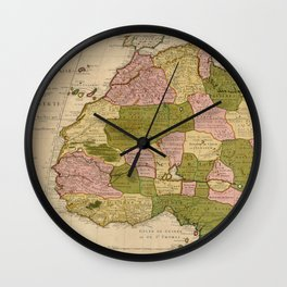 North West Africa1707 Wall Clock