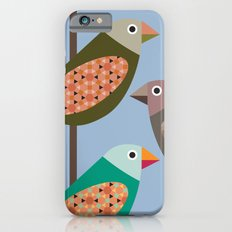 Fun Finches Slim Case iPhone 6s