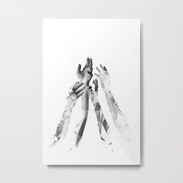 E_ Metal Print
