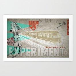 HMK Tibor Everything Experiment Art Print