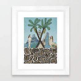 ORIGINAL SIN Framed Art Print
