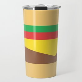 Cheeseburger Travel Mug