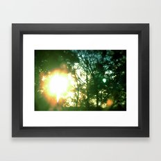 Midsummer Framed Art Print