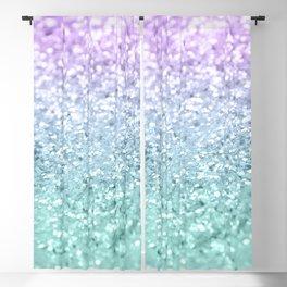 Mermaid Girls Glitter #1 #shiny #decor #art #society6 Blackout Curtain