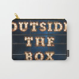 Outside the Box - Wall-Art for Hotel-Rooms Carry-All Pouch