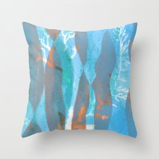 Seascape Pattern no I Throw Pillow
