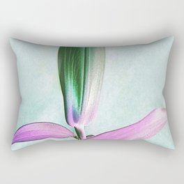 Lily Bud Rectangular Pillow
