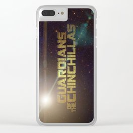 Guardians of the Chinchillas Clear iPhone Case
