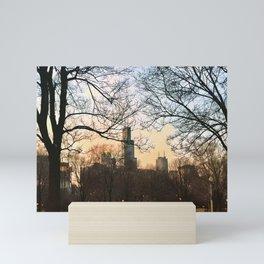 Late January Sunset Mini Art Print