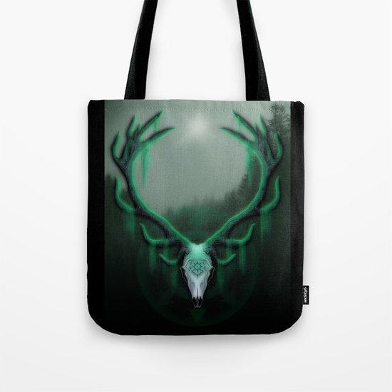 Wild Horns Tote Bag