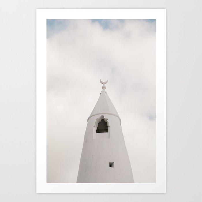 Sky Church Art Print