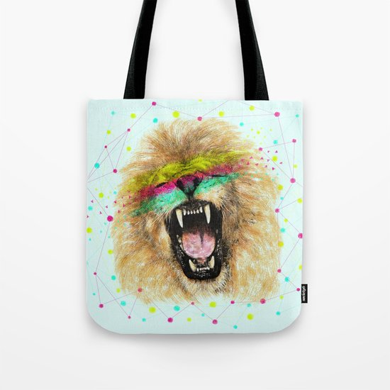 Lion II Tote Bag