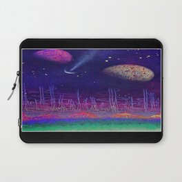 earth to space 1 by ruckas Laptop Sleeve
