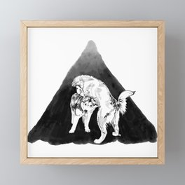 Jack & Juneau Framed Mini Art Print