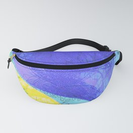 inverse galaxy waves Fanny Pack