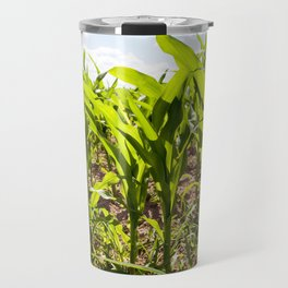 corn field close up Travel Mug