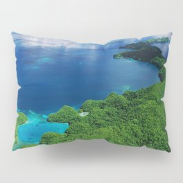 WOW!!! PALAU!! Tropical Island Hideaway Pillow Sham