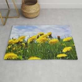 Dandelion meadow Rug