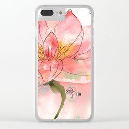 SEKA Lotus Clear iPhone Case