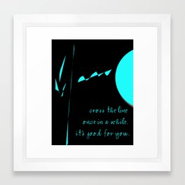 Messages to Myself Framed Art Print