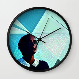 Under Her Sky Wall Clock