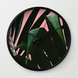 Tropikal Inspo Wall Clock