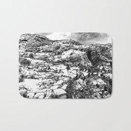 Desert_rocks Bath Mat