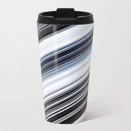 silver stripes Travel Mug