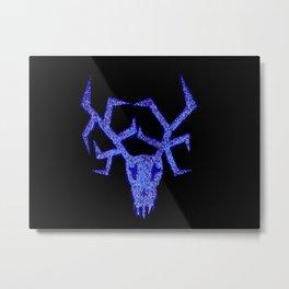 Wendigo Blue Aura Metal Print