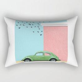 The end of the street Rectangular Pillow