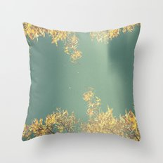Reality leaves a lot to the imagination.   Throw Pillow