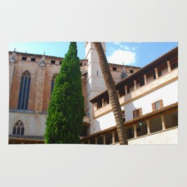Basilica de Sant Francesc - Palma de Mallorca Spain Rug
