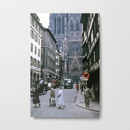 Strasbourg 1956 Metal Print