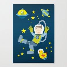 Space travel Canvas Print
