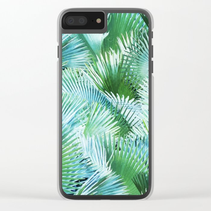 Palm Dreamer #society6 #decor #buyart Clear iPhone Case