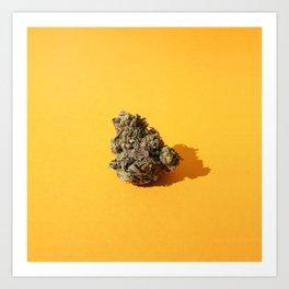 Green Tangerine Art Print