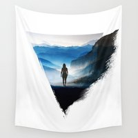 potato Wall Tapestries featuring Darker than blue by Stoian Hitrov - Sto