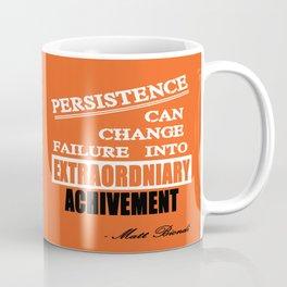 Matt Biondi swimmer Inspirational Typography Quote Coffee Mug