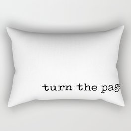 Turn the Page Rectangular Pillow