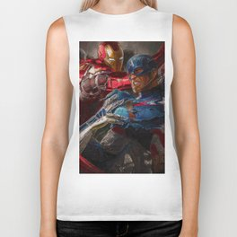 War of superhero Biker Tank