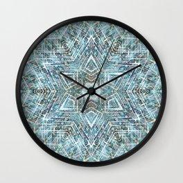 Digital Meditation 2 Wall Clock