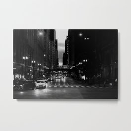 Chicago Noir ... Metal Print