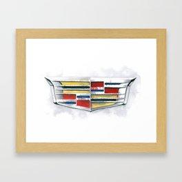 Cadillac #1 Framed Art Print