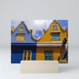 Netherland style house Mini Art Print