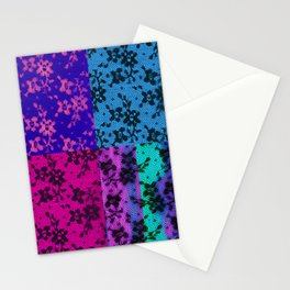 LACE COLLAGE Stationery Cards