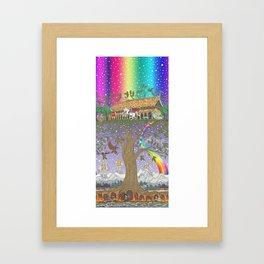 Yggdrasil, The World Tree Framed Art Print